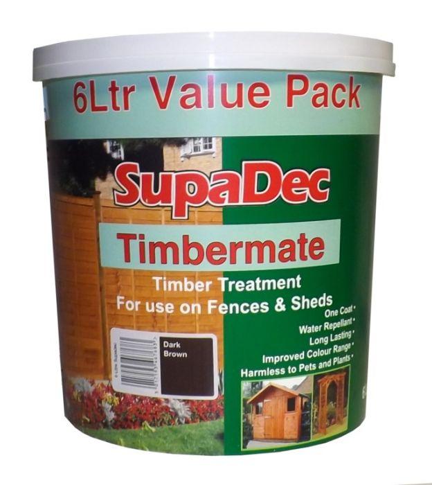 SupaDec Timbermate 6L Autumn Gold