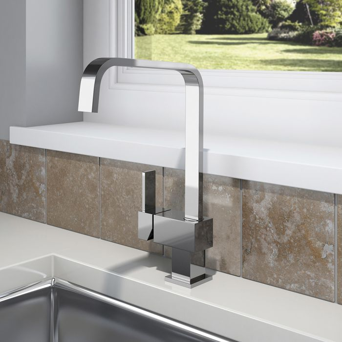 SP Square Mono Mixer Sink Tap