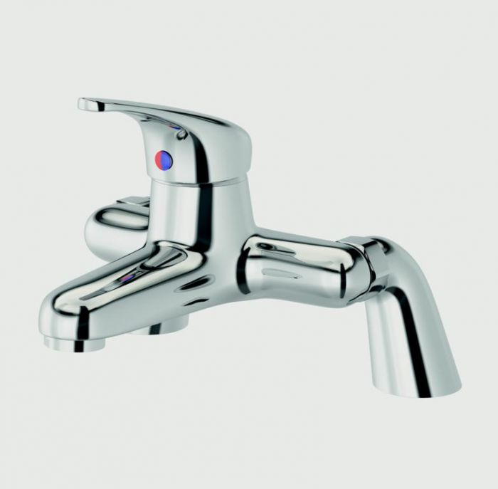 SP SupaPlumb Eden Bath Filler Tap W: 231mm H: 167mm D: 201mm