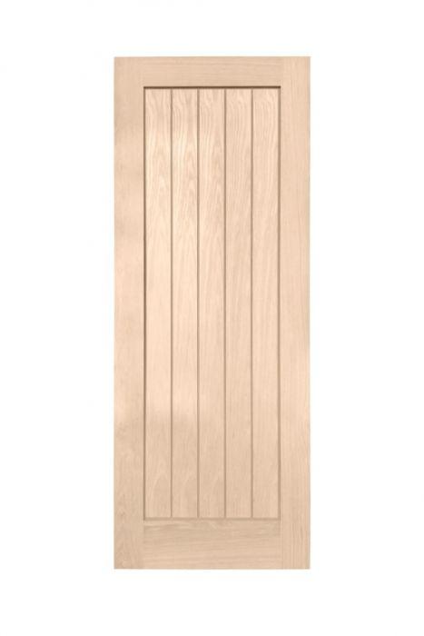 Woodside Oak Veneer 27 Interior Door Cottage Panel (W)686Mm X (H)1981Mm X (D)35Mm