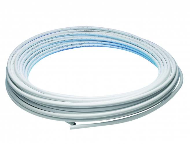 JG Speedfit Layflat Polybutylene Pipe 15mm x 25m - White