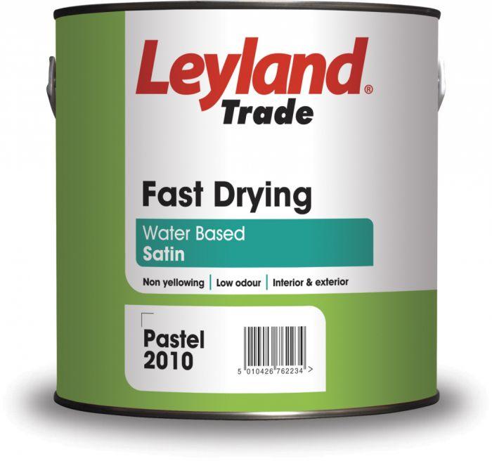 Leyland Trade Fast Drying Satin 2.5L Brilliant White
