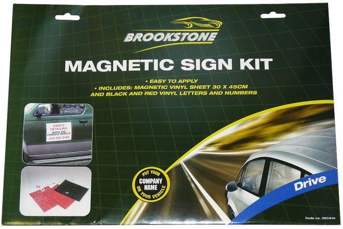 Brookstone Drive Magnetic Sign Kit