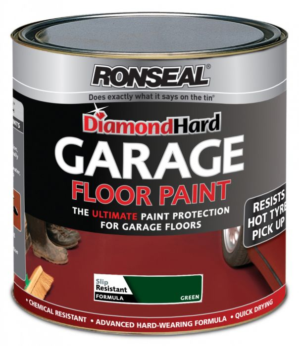 Ronseal Diamond Hard Garage Floor Paint 5L Green