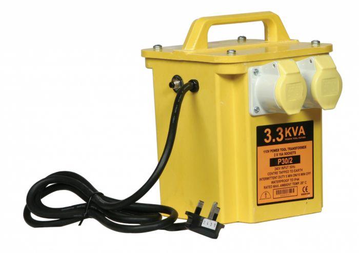 Lyvia 3 KVA Insulated Transformer 2 Socket 110V