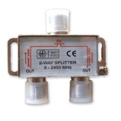 Lyvia 2 Way Splitter 5-2400Mhz