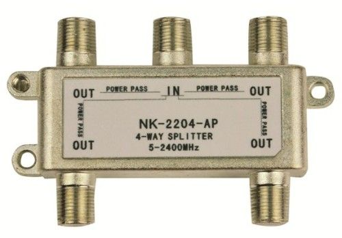 Lyvia 4Way Splitter 5-2400Mhz