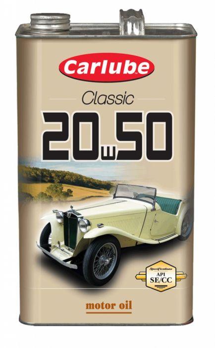 Carlube 20W-50 Classic Oil 4.55L