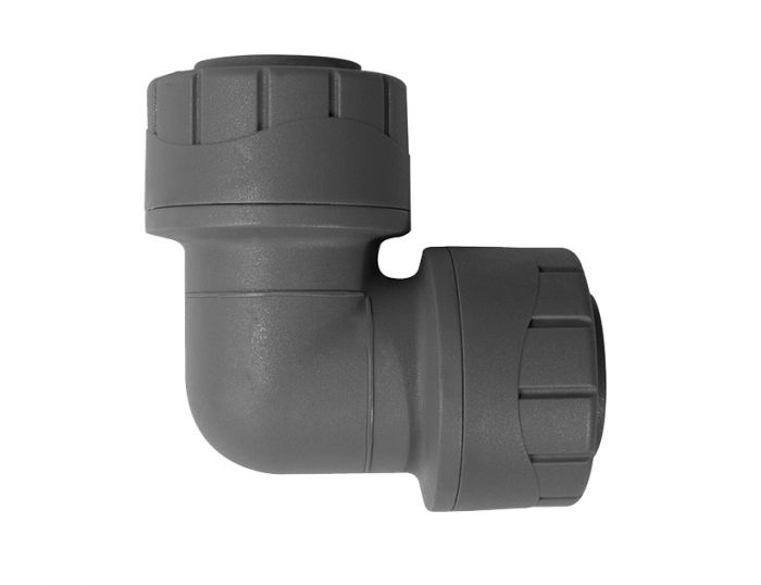 Polyplumb 15mm Elbow Grey PPM115