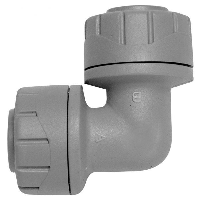 Polyplumb Elbow Grey 22mm