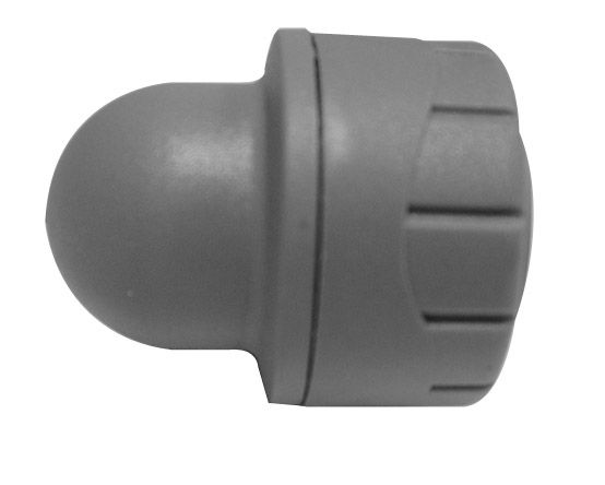 Polyplumb Socket End Pack 2 Grey 22mm