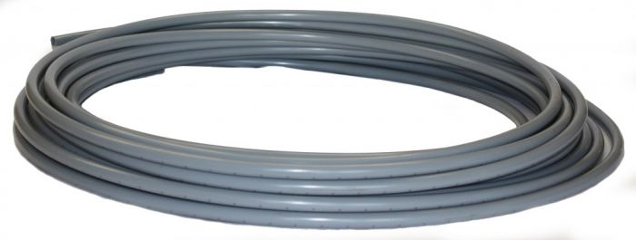 Polyplumb 22mm x 25m Barrier Pipe Coil Grey 22mm
