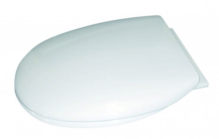 Cavalier Thermoplastic Soft Close Toilet Seat White