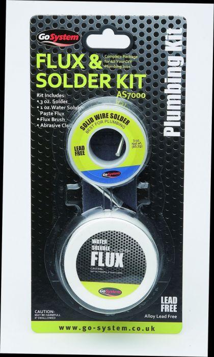 GoSystem Lead Free Solder & Flux Kit