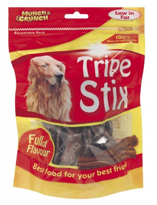 Munch & Crunch Tripe Dog Snack 100g