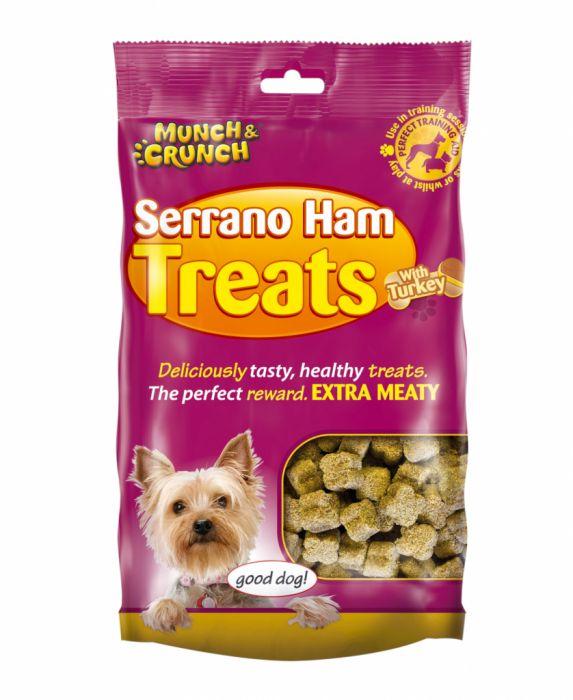 Munch & Crunch Serrano Ham Treats With Turkey