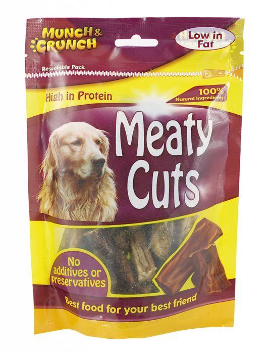 Munch & Crunch Meaty Cuts 100g