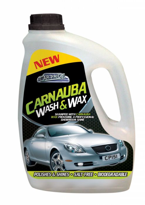 Car Pride Carnauba Wash & Wax 2L