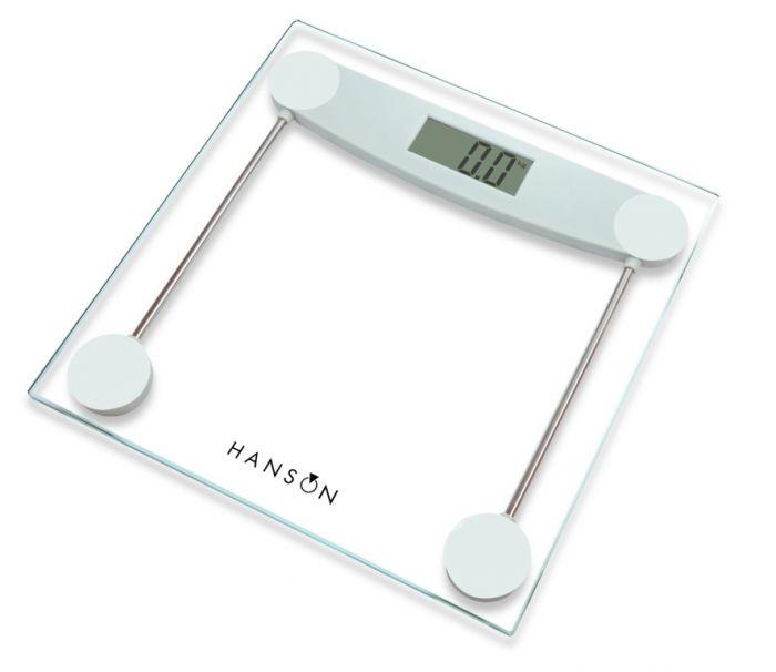 Terraillon Glass Electronic Bathroom Scale Clear 150kg