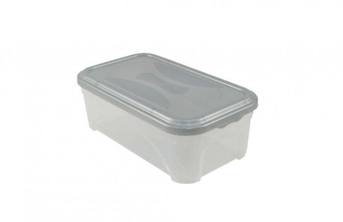 Premier Space Box 11L Clear / Platinum Lid