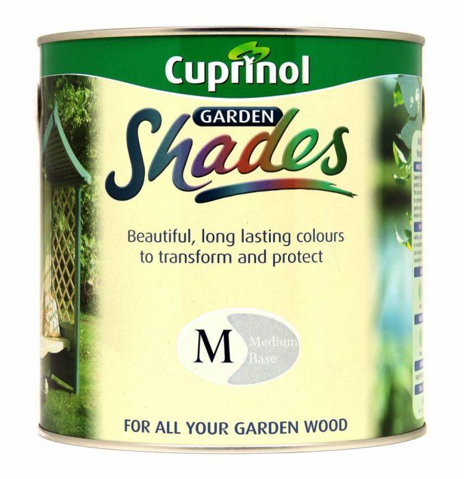 Cuprinol Garden Shades Medium Mix Base 2.5L