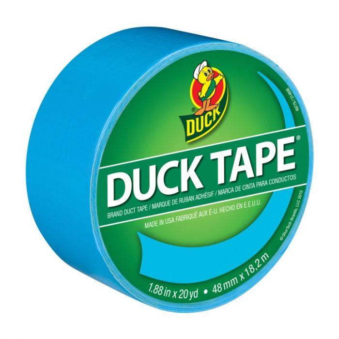 Duck Tape 48mm x 9.1m Aqua