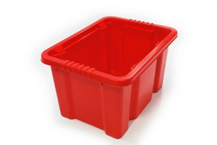 TML Storage Box Red 24L