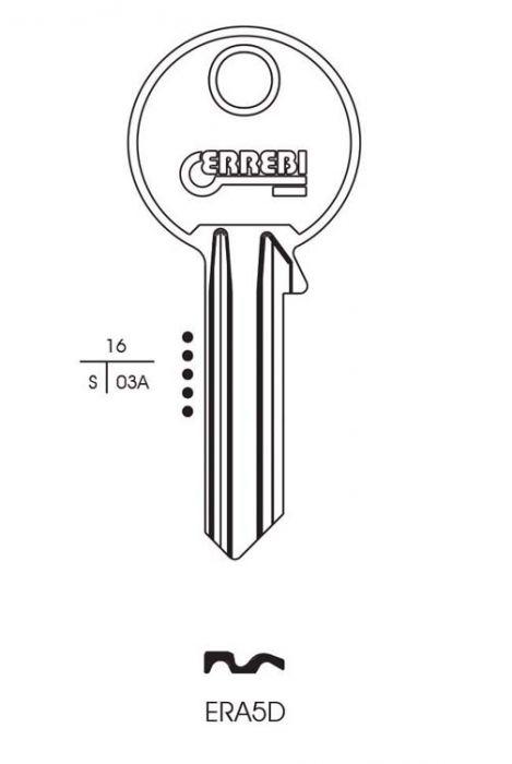 RST Era Cylinder Key Blank Pack 10
