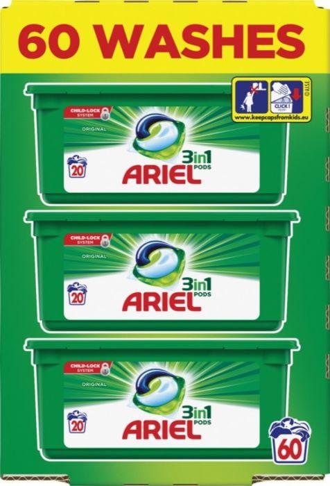 Ariel Original All In One Pods Capsules 57 Wash