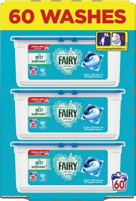 Fairy Non Bio Pods 57 Wash