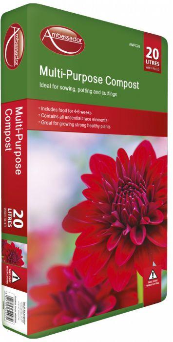 Ambassador Multi-Purpose Compost 20L