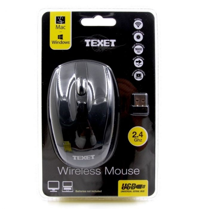 Texet Wireless Computer Mouse 2.4 GHZ