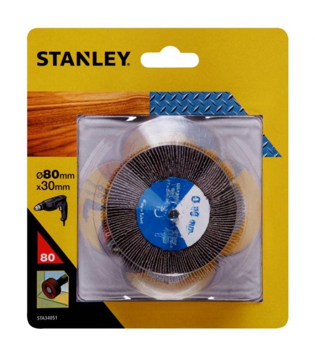 Stanley 80g Flap Disc 80mm