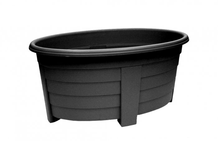Grosvenor Oval Planter 55cm Ebony