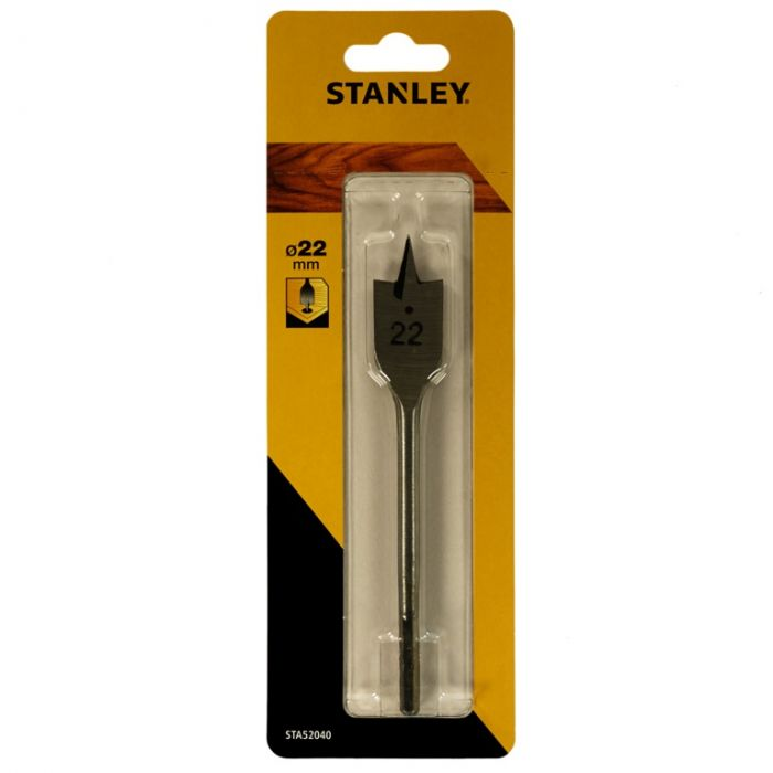 Stanley Flatwood Drill Bit 22mm