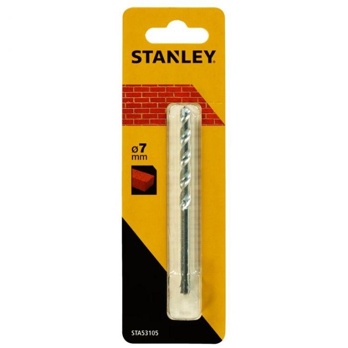 Stanley Standard Masonry Drill Bit 7x100