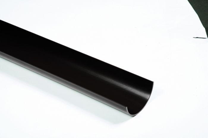 Polypipe Half Round Gutter 112mm 4m Length
