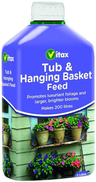 Vitax Liquid Feed For Hanging Baskets 1L