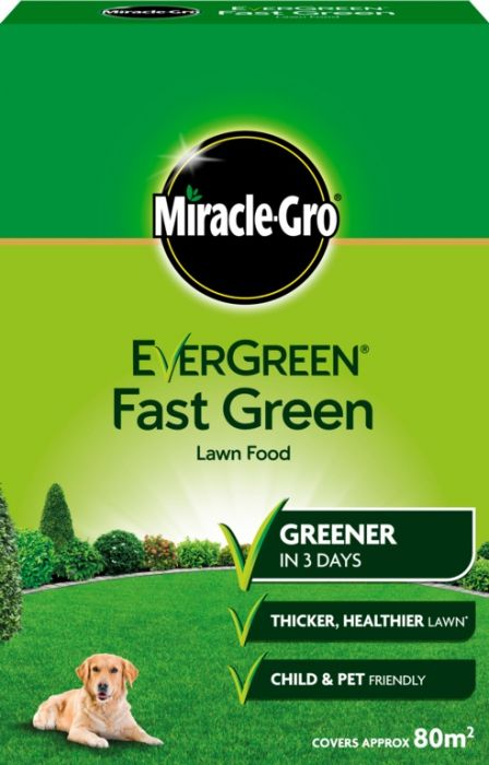 Miracle-Gro Evergreen Fast Green 80m2 Box