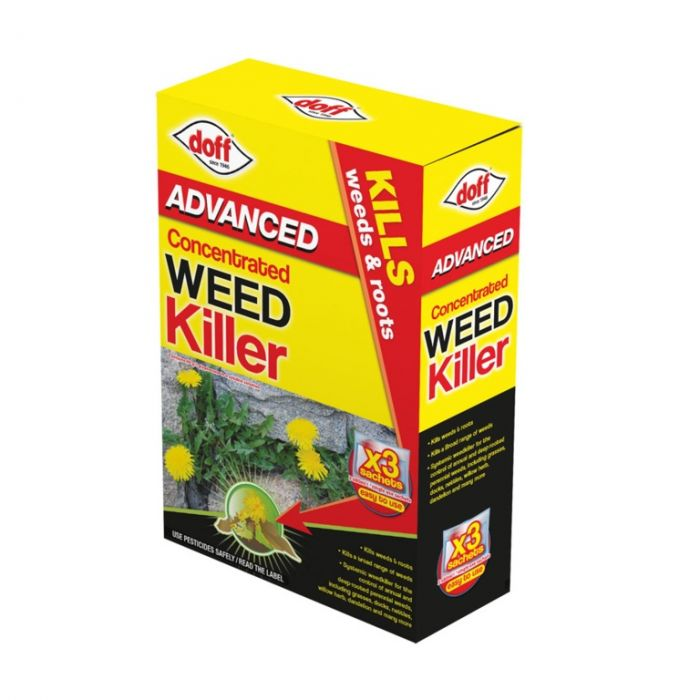 Doff Advanced Concentrated Weedkiller 3 Sachet