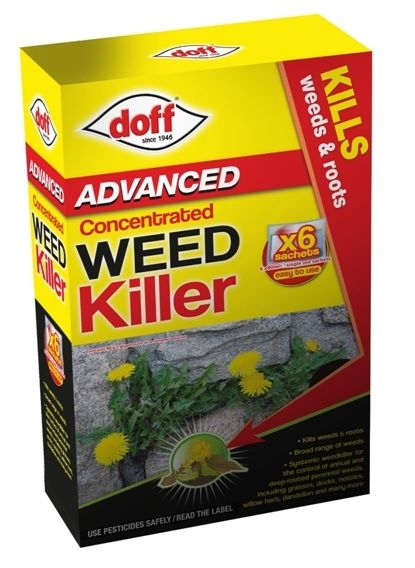 Doff Advanced Concentrated Weedkiller 6 Sachet