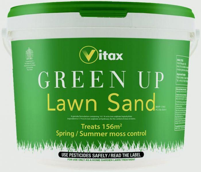 Vitax Green Up Lawn Sand Treats 156M2