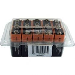 Duracell 9V Battery Tub Of 10