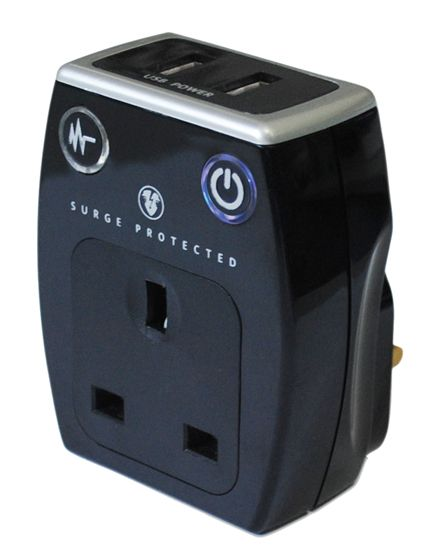 Masterplug Plug In Charger With Usb Sockets