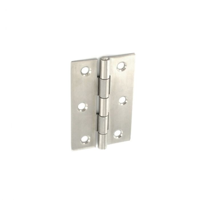 Securit Stainless Steel Satin Butt Hinges 75Mm