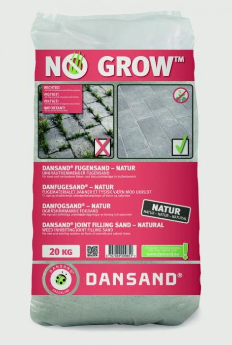 Dansand No Grow Block Paving Sand 20Kg