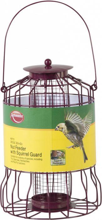 Ambassador Wild Birds Nut Feeder With Squirrel Guard