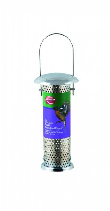 Ambassador Wild Birds Deluxe Nyger Seed Feeder