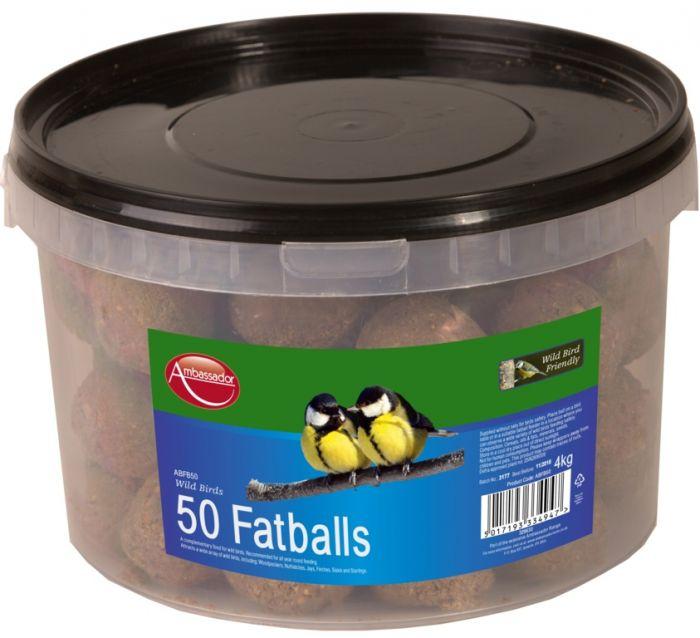 Ambassador Fat Balls 50 Pack