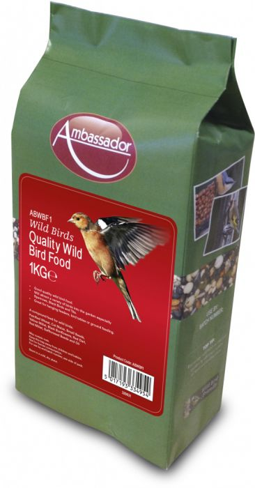 Ambassador Quality Wild Bird Food 1Kg